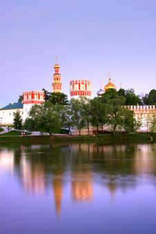 Free Novodevichy Convent Stock Image - 9803551