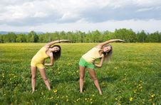 Free Two Girls Stock Images - 9803774