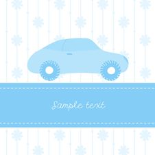 Free Colorful Illustration With Car Stock Photography - 9803792