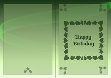 Free Card Happy Birthday Stock Photography - 9804712