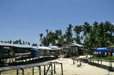 Mabul Island, Semporna, Sabah Stock Photography