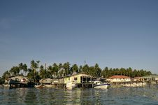 Mabul Island, Semporna, Sabah Royalty Free Stock Photos