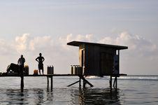 Mabul Island, Semporna, Sabah Stock Photo