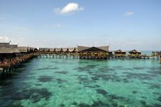 Free Kapalai Island, Semporna, Sabah Stock Images - 9806154