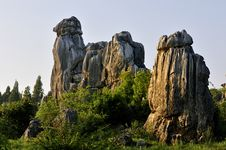 China S Stone Forest Stock Photos