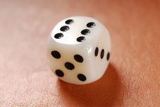 Free White Dice Royalty Free Stock Image - 9806416