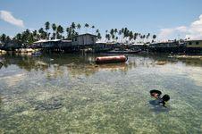 Mabul Island, Semporna Sabah Royalty Free Stock Photos