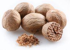 Free Nutmegs Stock Image - 9807041