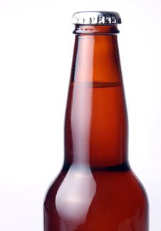 Free Brown Beer Bottle Royalty Free Stock Photos - 9807588