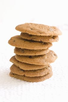Free Chocolate Chip Cookies Royalty Free Stock Images - 9807799