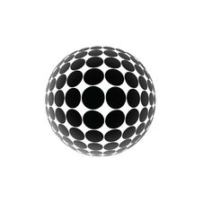 Free Black Ball Royalty Free Stock Image - 9808496