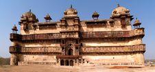 Free Palace In Orcha, Madhya Pradesh Royalty Free Stock Images - 9809239