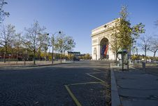 Free Arc De Triomphe Stock Images - 9809304