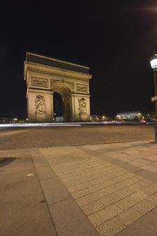 Free Arc De Triomphe Stock Images - 9809324