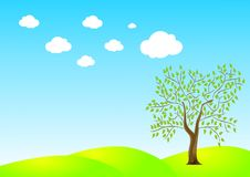Free Lonely Tree Royalty Free Stock Image - 9809356
