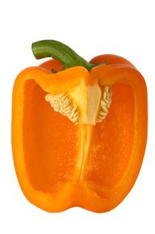 Free Orange Pepper Stock Photography - 9809412