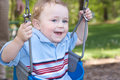 Free Swinging At The Park Royalty Free Stock Photography - 9810977