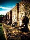 Free Damaged Buddhas In Thailand Stock Photo - 9812600