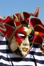Free Traditional Colorful Venice Mask Royalty Free Stock Photography - 9815877