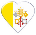 Free Icon Of Vatican City Flag Royalty Free Stock Photos - 9819638