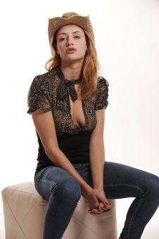 Free Beautiful Young Model Stock Image - 9810701