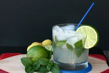 Classic Mojito Royalty Free Stock Photography