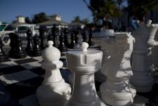 Free Chess Game In Cuba Stock Photos - 9811973