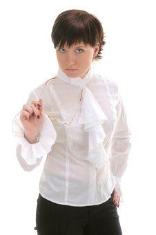 Free Portrait Of Businesswoman Stock Photo - 9812290
