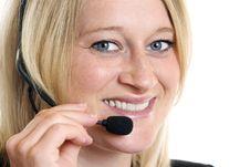 Free Call Center Operator Stock Photos - 9812903
