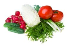 Free Heap Of Fresh Vegetables Royalty Free Stock Images - 9813059