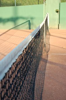 Free Tennis Net 2 Stock Photo - 9813400