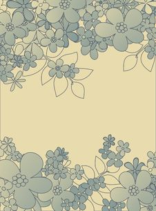 Free Floral Pattern Stock Photography - 9813432