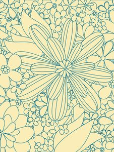 Free Floral Pattern Royalty Free Stock Photo - 9813445