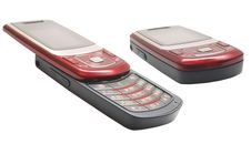 Free Modern Clamshell Phone Royalty Free Stock Photography - 9813797