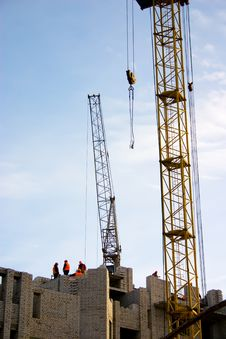 Free House Construction Stock Image - 9814361
