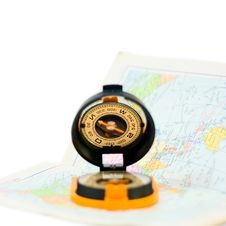 Free Compass And Card Stock Images - 9814604