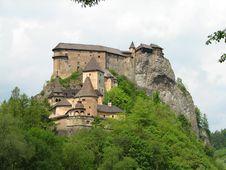 Free Orava Castle Stock Photo - 9814830