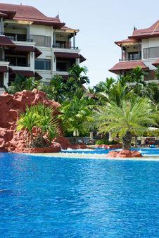 Free Tropical Resort Stock Photos - 9814893