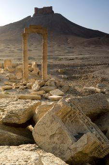 Palmyra Royalty Free Stock Photos