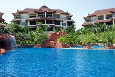 Free Tropical Resort Royalty Free Stock Images - 9814999