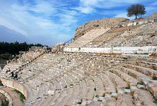 Free Ephesus Amphitheater Stock Images - 9815204
