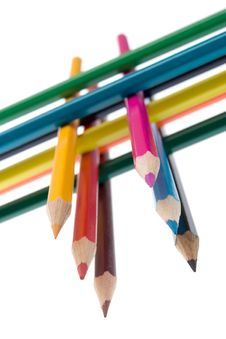 Free Colored Pencils Royalty Free Stock Photo - 9815315