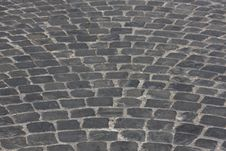 Free Old Medieval Granite Cobble Road Royalty Free Stock Images - 9815829