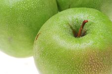 Free Green Apples Royalty Free Stock Photos - 9817128