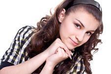 Free Beautiful Women In A Jacket Stock Photos - 9817163