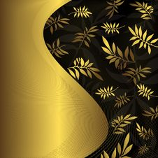Free Abstract Floral Frame Royalty Free Stock Image - 9817526