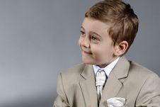 Free Boy Listening Royalty Free Stock Photos - 9817708