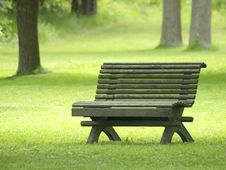 Free Park Bench Stock Photography - 9817932