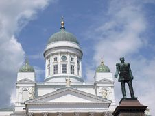 Free Helsinki Cathedral Stock Photo - 9817950