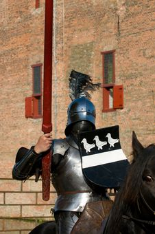Free A Knight On A Horse Royalty Free Stock Image - 9817976
